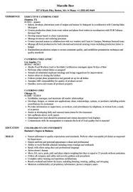 Catering Chef Sample Resume | Getcontagio.us