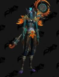 Monk Autumn - Outfit - World of Warcraft