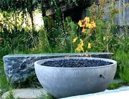 diy concrete fire bowl concrete fire bowl concrete bowl fire pit how to make a concrete