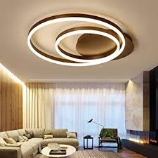 HZC Ceiling Light Fixtures Modern Round LED ... - Amazon.com