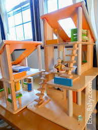 Eco Babyz  Plan Toys Chalet Dollhouse ReviewYou    ll everything from stackers  pull toys  and puzzles  to ride on toys  musical toys  and kitchen toys  Out of all the dollhouse
