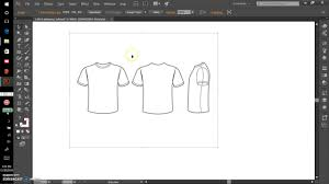 Downloading The Tshirt Template In Illustrator