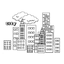 Small Picture City City Building Coloring Page teaching 5 comunidad