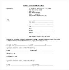 Simple Contractor Agreement Template 24 Contract Agreement Templates Word Pdf Pages Free