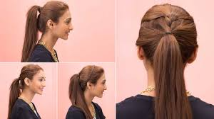Easy Hair Style For Girl 4 easy ponytail hairstyles quick & easy girls hairstyles 7714 by wearticles.com