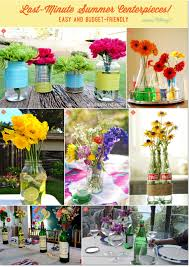 DIY Centerpiece Ideas for a Summer Party Using Recycled Cans, Jars, and  Bottles!