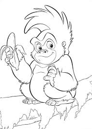 Small Picture Tarzan Coloring Pages Disney Coloring Pages Pinterest Tarzan