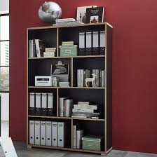 home office shelving units. Alantra Wooden Home Office Shelving Unit In Anthracite_1 Units