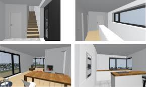 Kompaktes modernes Einfamilienhaus
