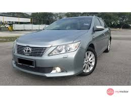2012 Toyota Camry for sale in Malaysia for RM97,900 | MyMotor