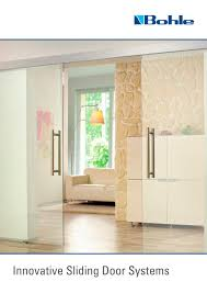 innovative sliding door systems 1 20 pages