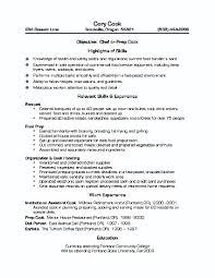 Cook Resume Skills 4 Sous Chef Cv Hashdoc Nardellidesign Com
