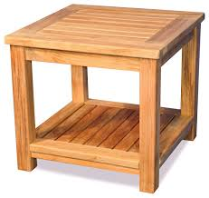 teak small coffee table or end table