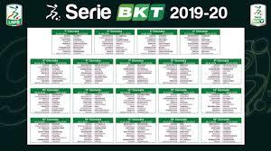 Calendario Serie B 2019/2020