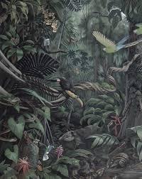 Tropical Landscape 003 Wallpaper Panel By Kek Amsterdam Burke Decor