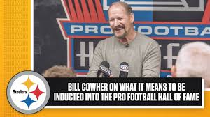 Bill Cowher on being inducted into the Pro Football Hall of Fame |  Pittsburgh Steelers - YouTube