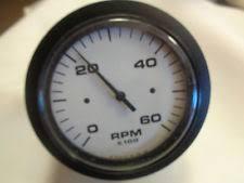 teleflex tachometer boat parts teleflex tachometer 0 60 white face black bezel marine boat
