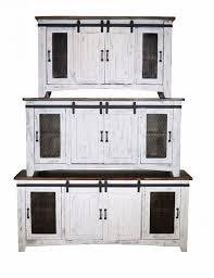 eliza white barn door tv stand 60 70