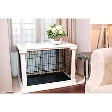 large wood dog crate furniture – journeyday