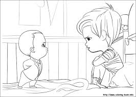 Get This Online Boss Baby Coloring Pages For Kids 96735