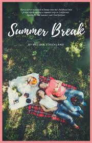summer romance wattpad book cover