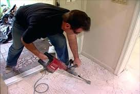 removing tile from concrete ceramic removal slab within how to remove floor remodel 6