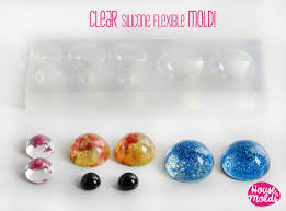 Cabochon Size Chart Multisize Cabochons Clear Mold 4 Sizes Cabochons Clear Mold