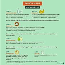 Food Chart For 21 Month Old Baby 6 And Half Month Baby Diet Plan Plzzzzzzzz