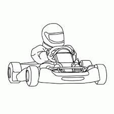 Go Karting Kleurplaten Leuk Voor Kids