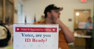 Myths Times Of New Opinion - Voter Id The York