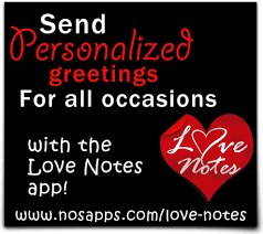 NOS Apps Templates - All - Category: Love Notes Promo - Image: First