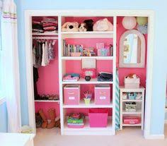closet ideas for girls. DIY Most Beautiful Girls\u0027 Closet I\u0027ve Ever Seen - Love The Idea Of Painting Inside A Different Color Than Room. Ideas For Girls L