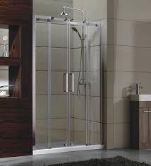 china sliding door small corner shower enclosures tempered glass material magnet lock strip supplier