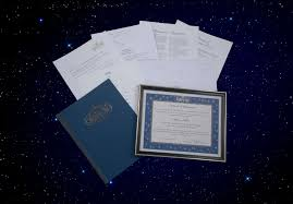 deluxe framed star certificate package