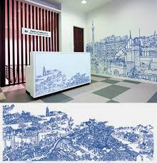 wall murals for office. Design Office Murals Wall For