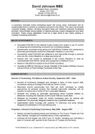 How To Write A Professional Profile Resume Genius Inside Examples Of
