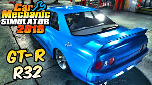 2018 nissan skyline. brilliant nissan nissan skyline gtr r32  car mechanic simulator 2018 22 inside nissan skyline