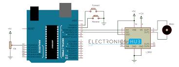 dc motor control arduino circuit diagram arduino dc motor control circuit diagram