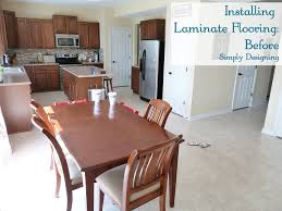 how to install laminate wood flooring diy homeimprovement flooring simply designing