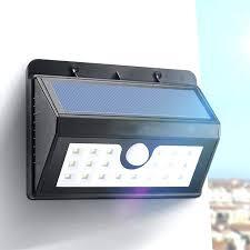 natural motion sensor lamps k2664908 wireless solar powered led solar light waterproof motion sensor outdoor fence