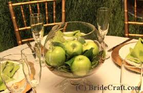 Create a Delicious Apple Centerpiece for Your Wedding!