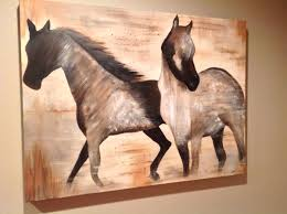 Ballard Designs Horse Art Horse Painting Designs Painting For Home