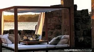bedroom. outdoor bed ideas: R Tic Outdoor Canopy Beds Youtube Dog ...