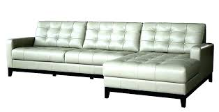 leather sectional couch with chaise light grey gray l sofa ashley tindell secti