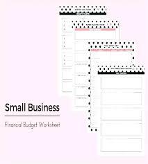 financial budget template financial worksheet template