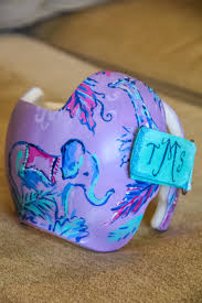 Doc Band Designs Lily Inspired Cranial Band Design Doc Band Doc Band