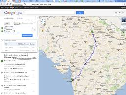 how to use google maps to determine the distance between two
