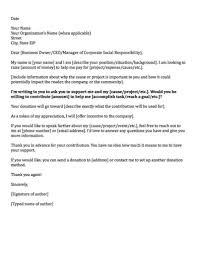 letter asking for donations from businesses donation request letters asking for donations made easy