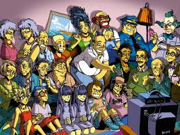 Simpsons Wallpaper For Bedroom The Simpsons Wallpapers Best The Simpsons Wallpapers In High