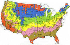 Growing Zone Chart Usa Usda Hardiness Zones Map Sunset Climate Zones And Other